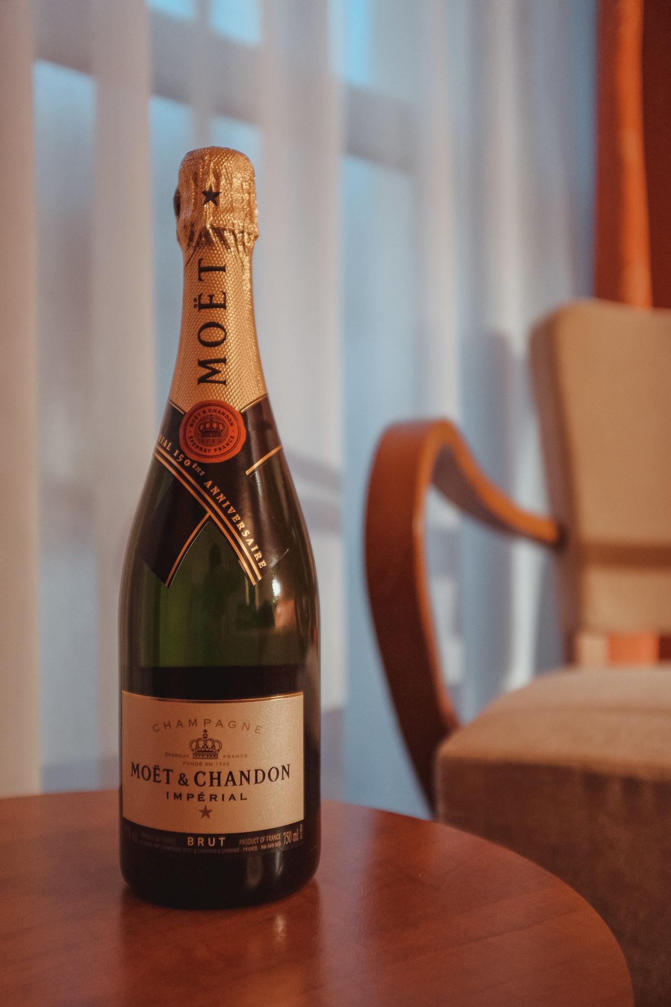 Bouteille de Champagne Moet & Chandon Épernay