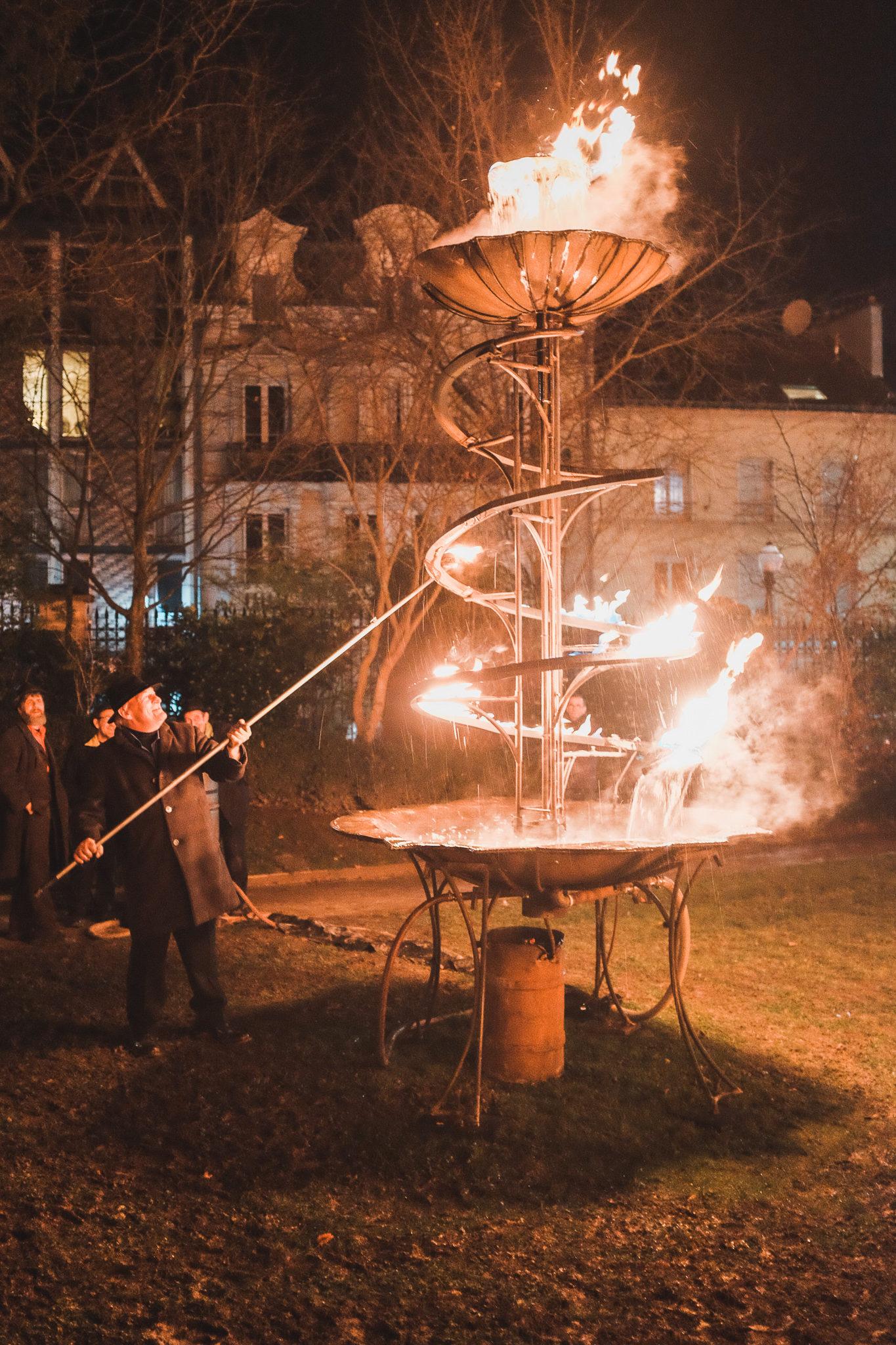Hotel de Ville Épernay Fontaine de feu