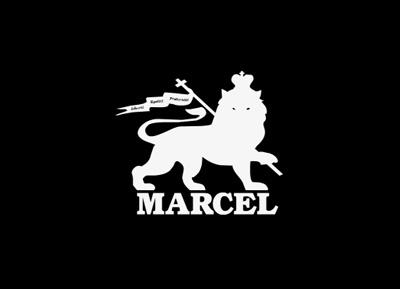 Marcel Logo Stage