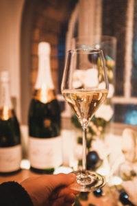Verre Champagne Pol Roger Épernay