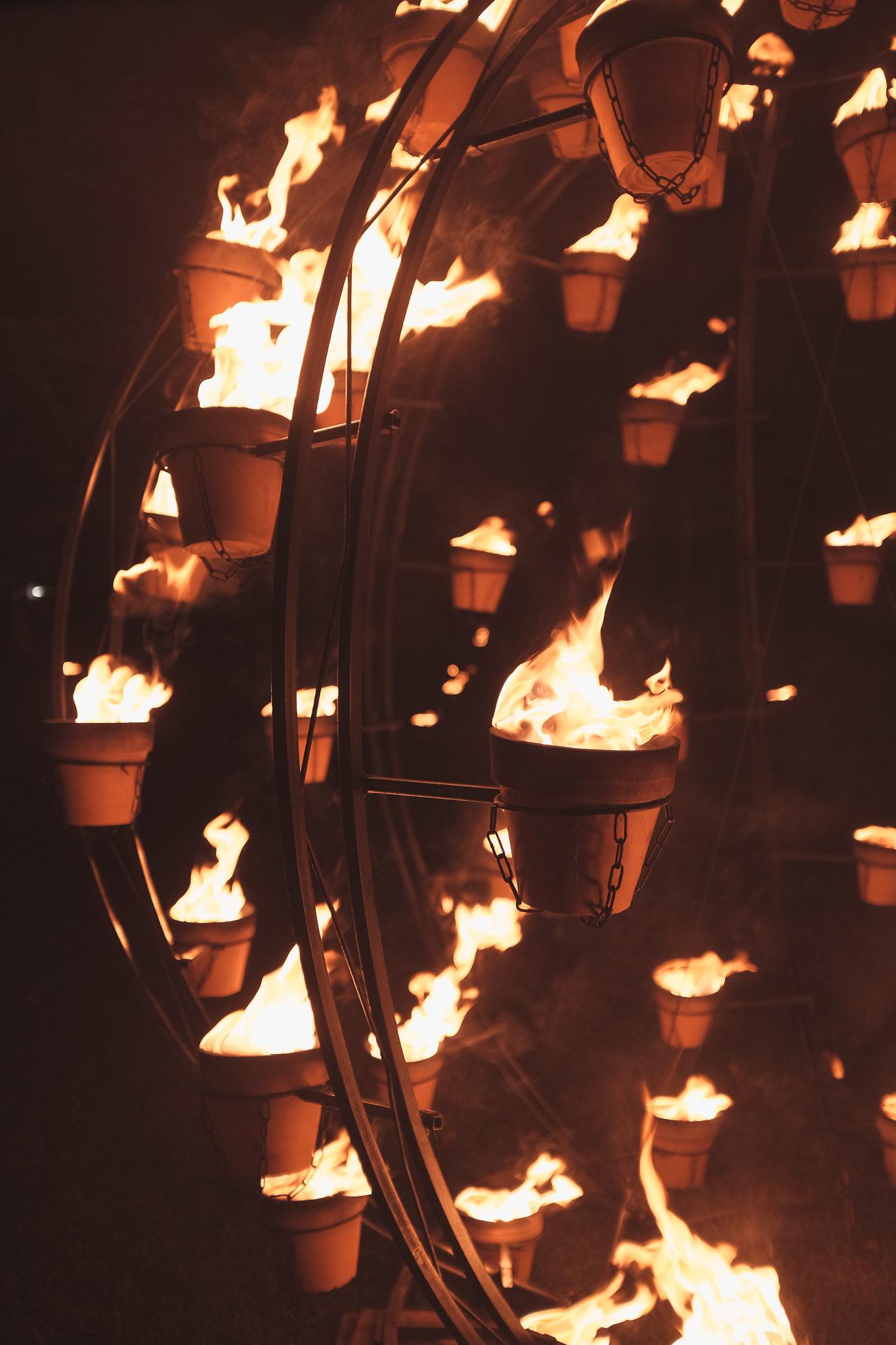 Installations feu Hotel de Ville Épernay