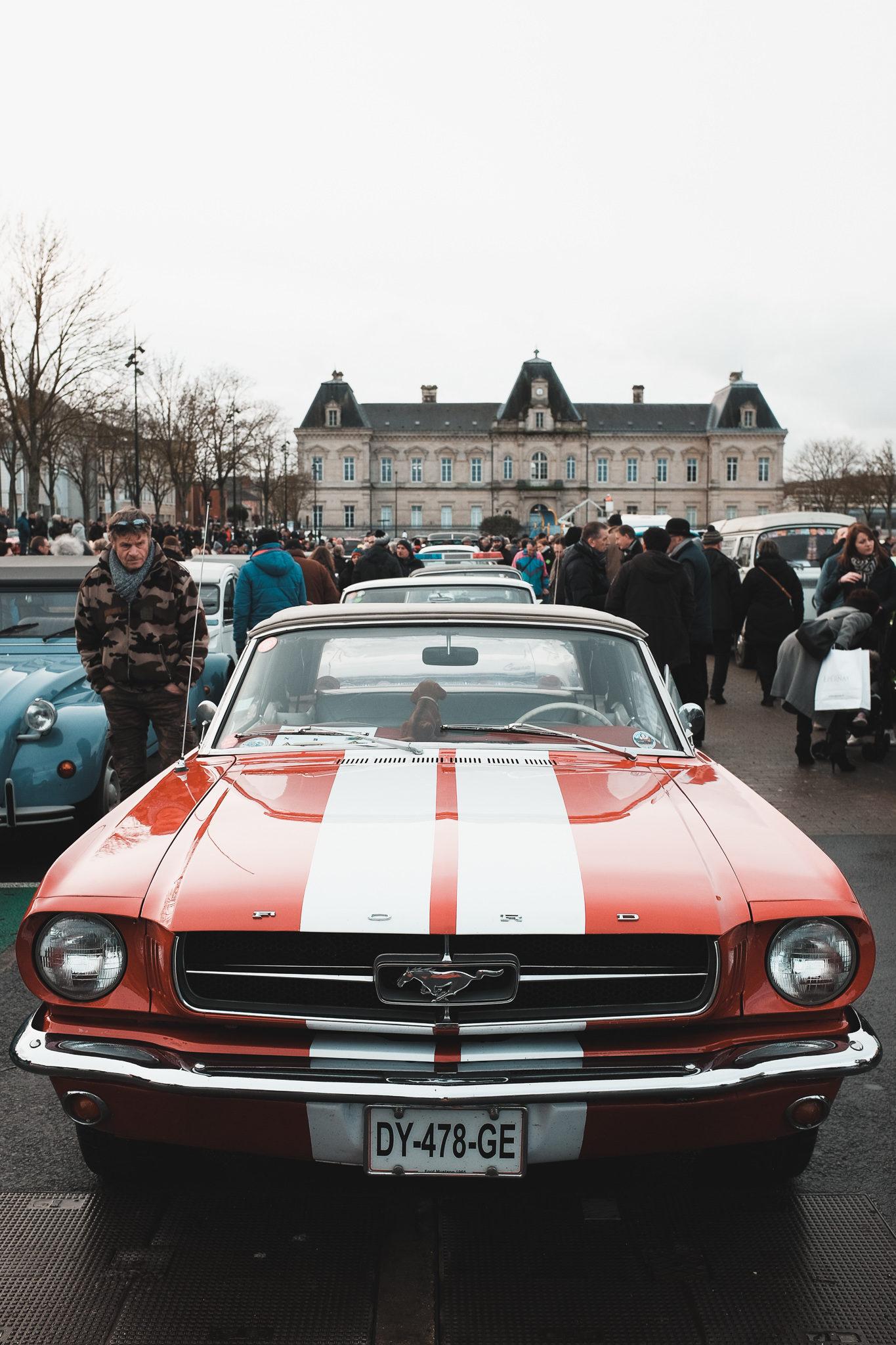 Défilé automobile Épernay