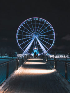Grande Roue Montreal Nuit
