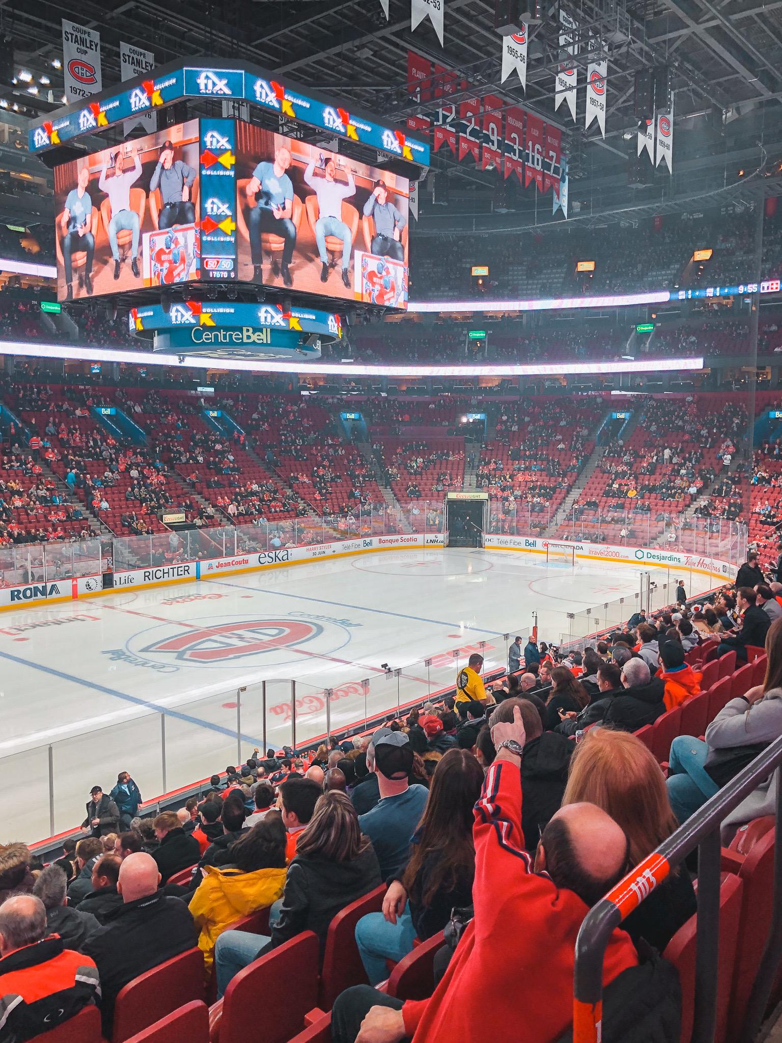 Hockey Match Canadiens Montreal