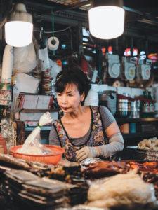Photographie de Rue Seoul Commercant