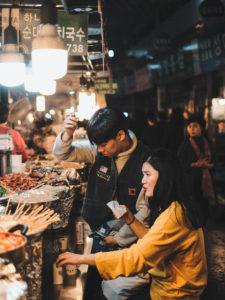 Photographie de Rue Seoul Couple