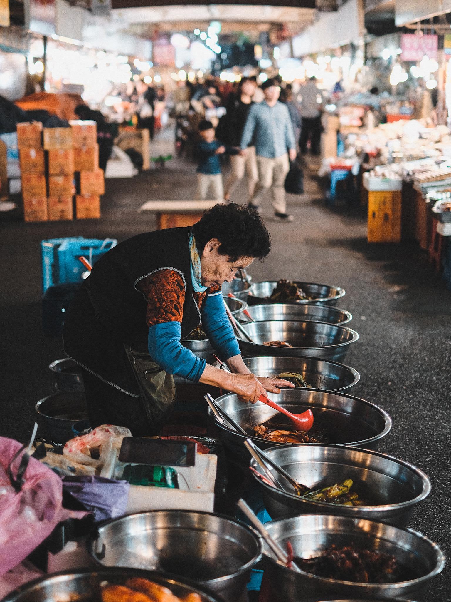 Photographie de Rue Seoul Dame Agee