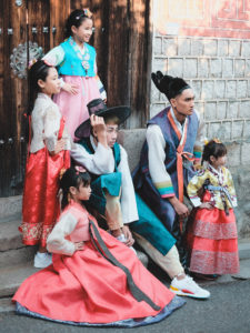 Photographie de Rue Seoul Hanok Village