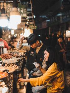 Photographie de Rue Seoul Market