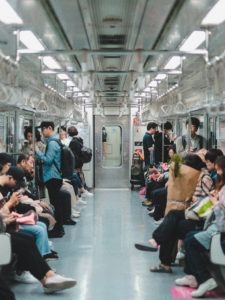 Photographie de Rue Seoul Metro