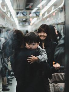 Photographie de Rue Seoul Metro Enfant