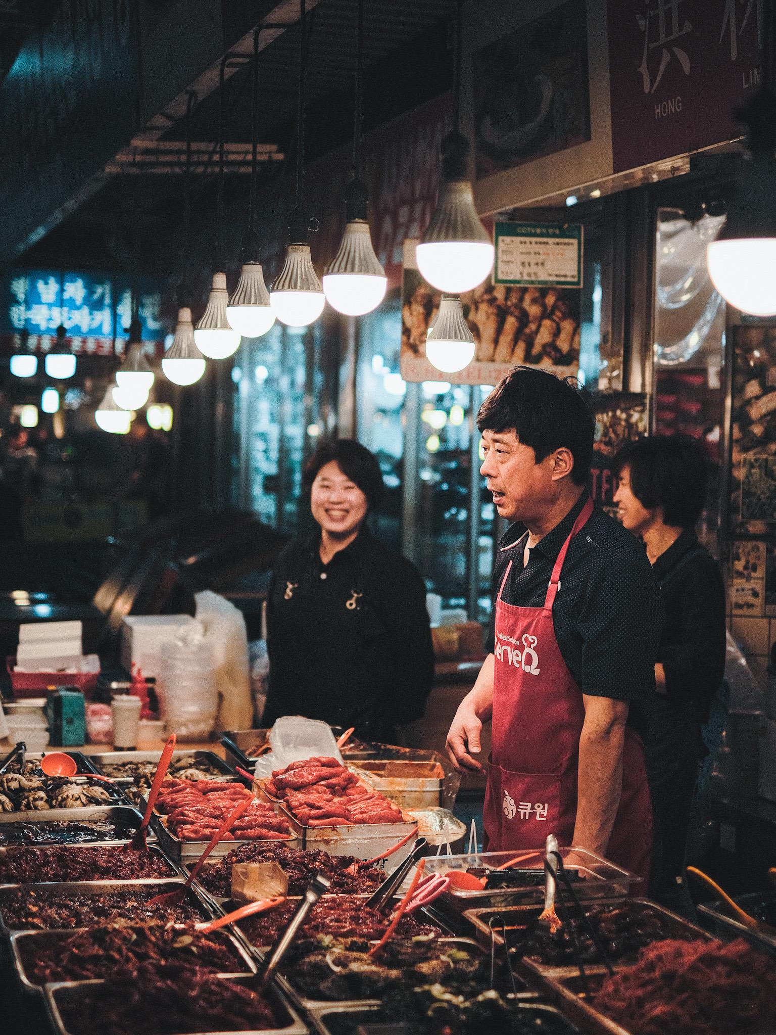 Photographie de Rue Seoul Nourriture