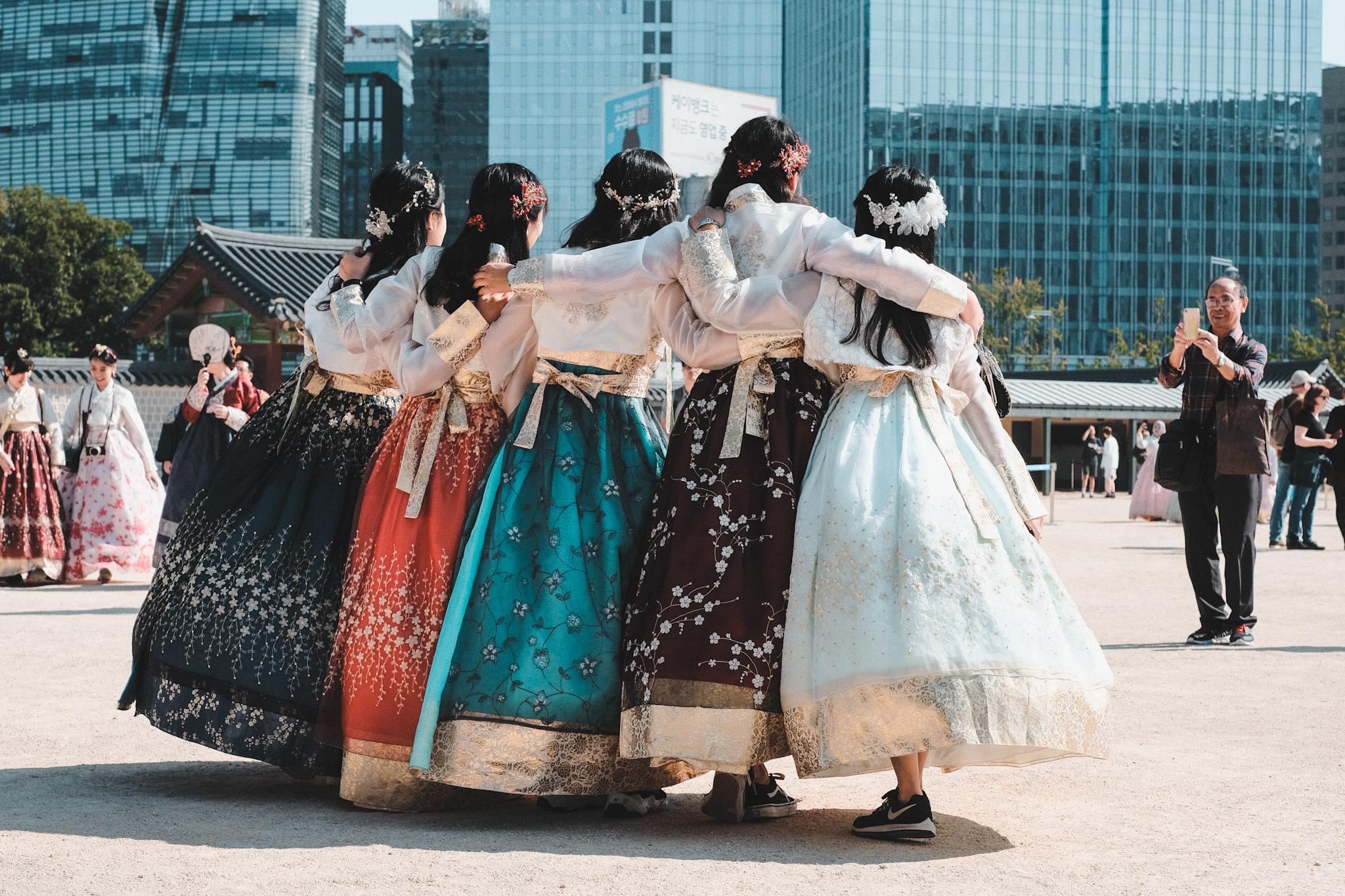 Photographie de Rue Seoul Temple