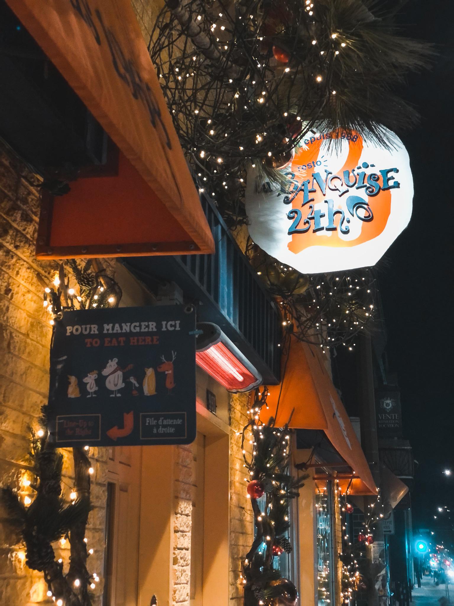 Restaurant La Banquise Montreal