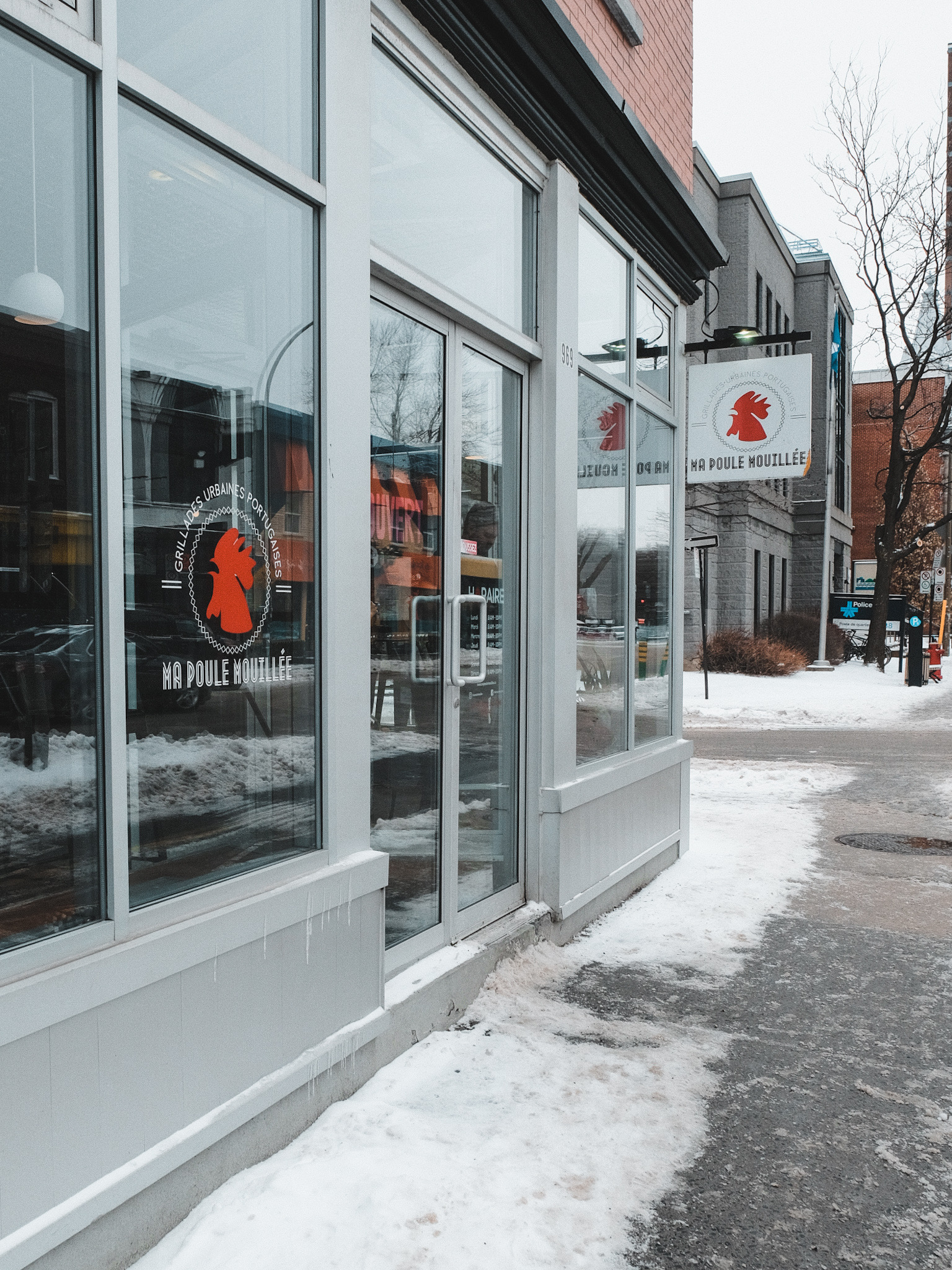 Restaurant Ma Poule Mouillee Montreal