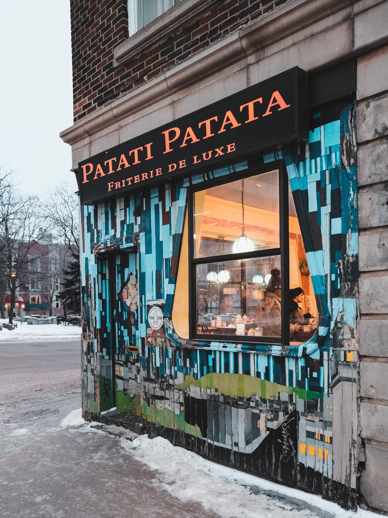 Restaurant Patati Patata Montreal