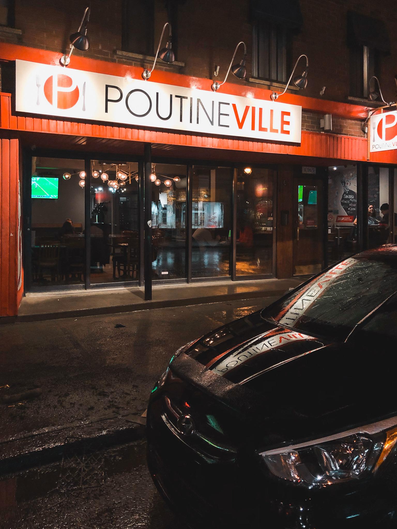 Restaurant Poutineville Montreal