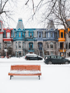 Square Saint Louis Montreal